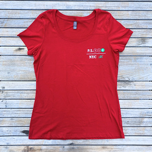 116 Red T-Shirt Adult/Women
