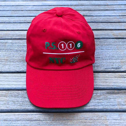 116 Spirit Baseball Cap in Red