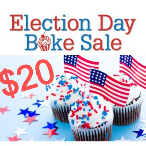 $20 Donation to Bake Sale