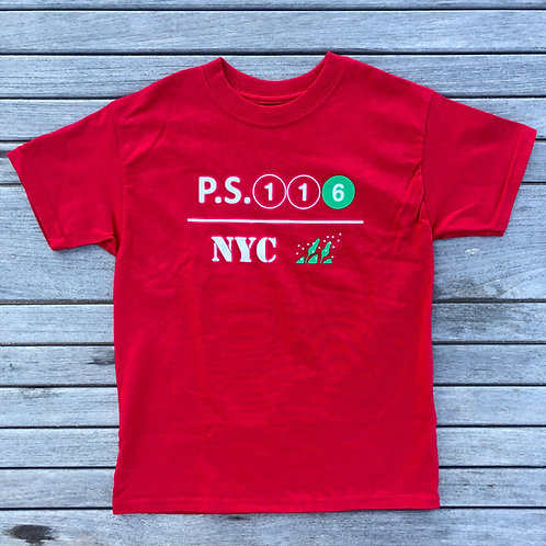 116 Red T-Shirt YOUTH