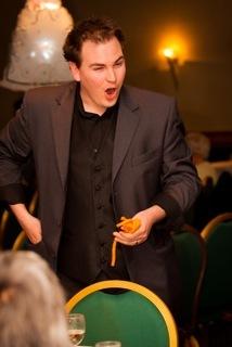 Ian Brennan, magician for hire.