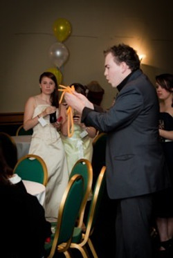 Event magician Ian Brennan