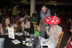 Table magic for toadstools.