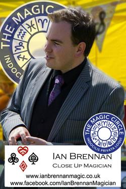Ian Brennan Magic Circle Magician