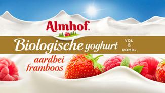 Almhof Yogurt packaging photography