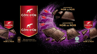 Packaging photography Cote D'Or chocolate / Packaging fotografie Cote D'Or chocolade