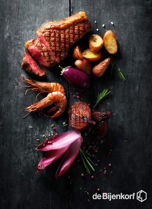 Food photography for De Bijenkorf Kitchen Restaurant / Food fotografie De Bijenkorf Kitchen