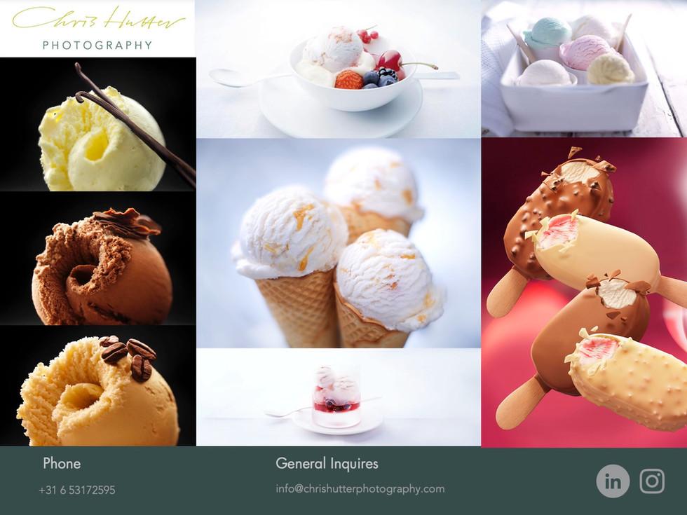 Chris Hutter Ice-cream Photography