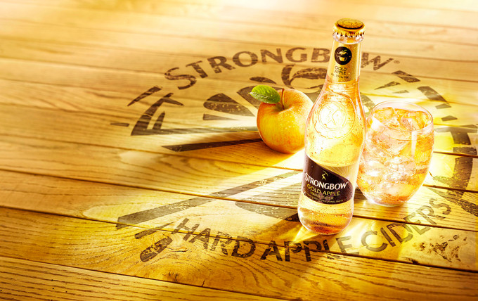 Drinks photography for Strongbow Apple Cider / Drank fotografie voor Strongbow