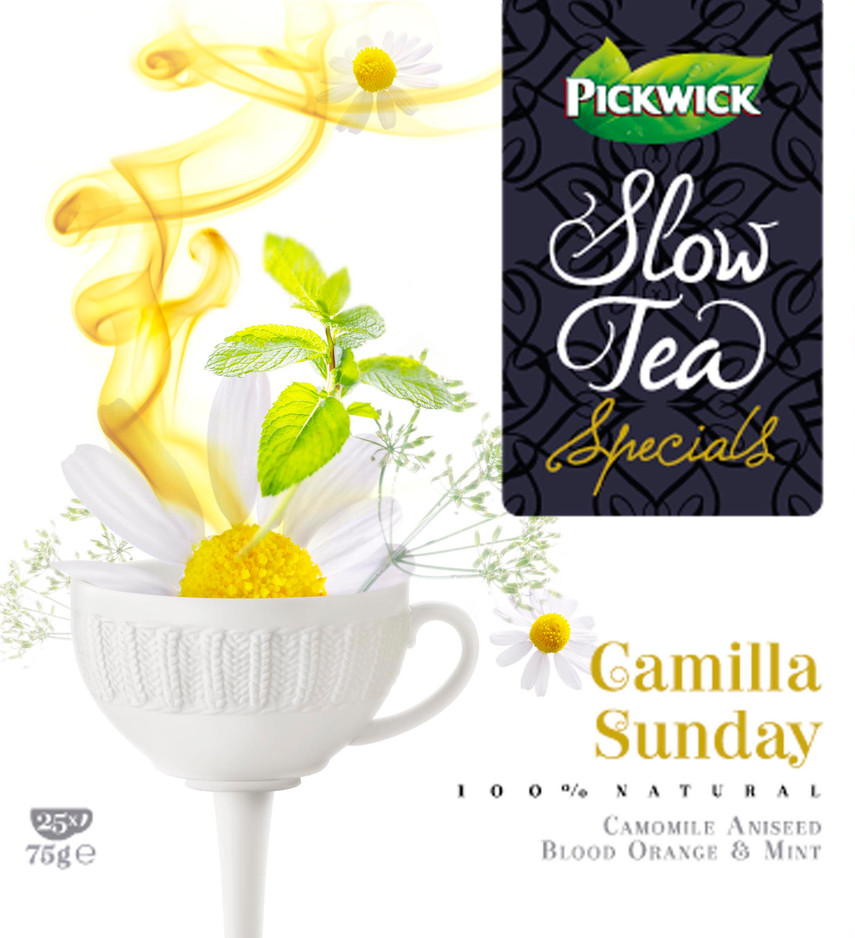 Packaging photography Pickwick Slow Tea / Packaging fotografie Pickwick Slow Tea