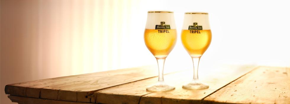 Product photography Hertog Jan Tripel