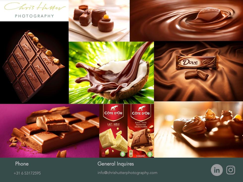 Chris Hutter Chocolate Photography / Chris Hutter Chocolade Fotografie