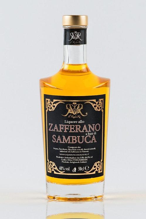 Il Re Dei Re, Sambuca Saffron/ allo Zafferano 40.0% 50cl