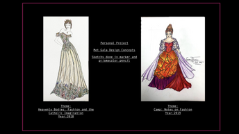Met Gala Personal Design Project