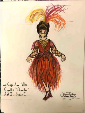 "The Cagelles ""Phaedra"""