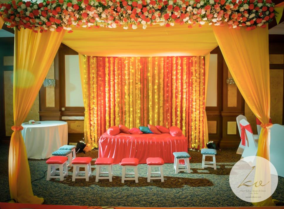 Bridal Seating (Mehndi)