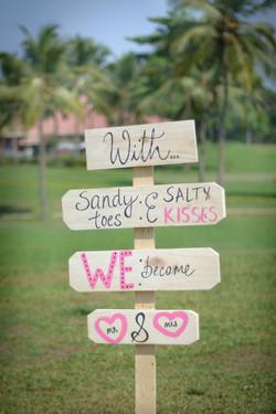 Sandy toes & salty kisses!