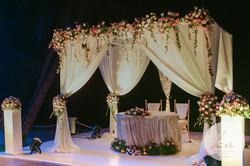 ... a sweetheart table setup!