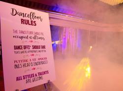 Dance Floor Rules!