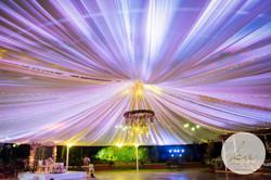 Dance floor ceiling
