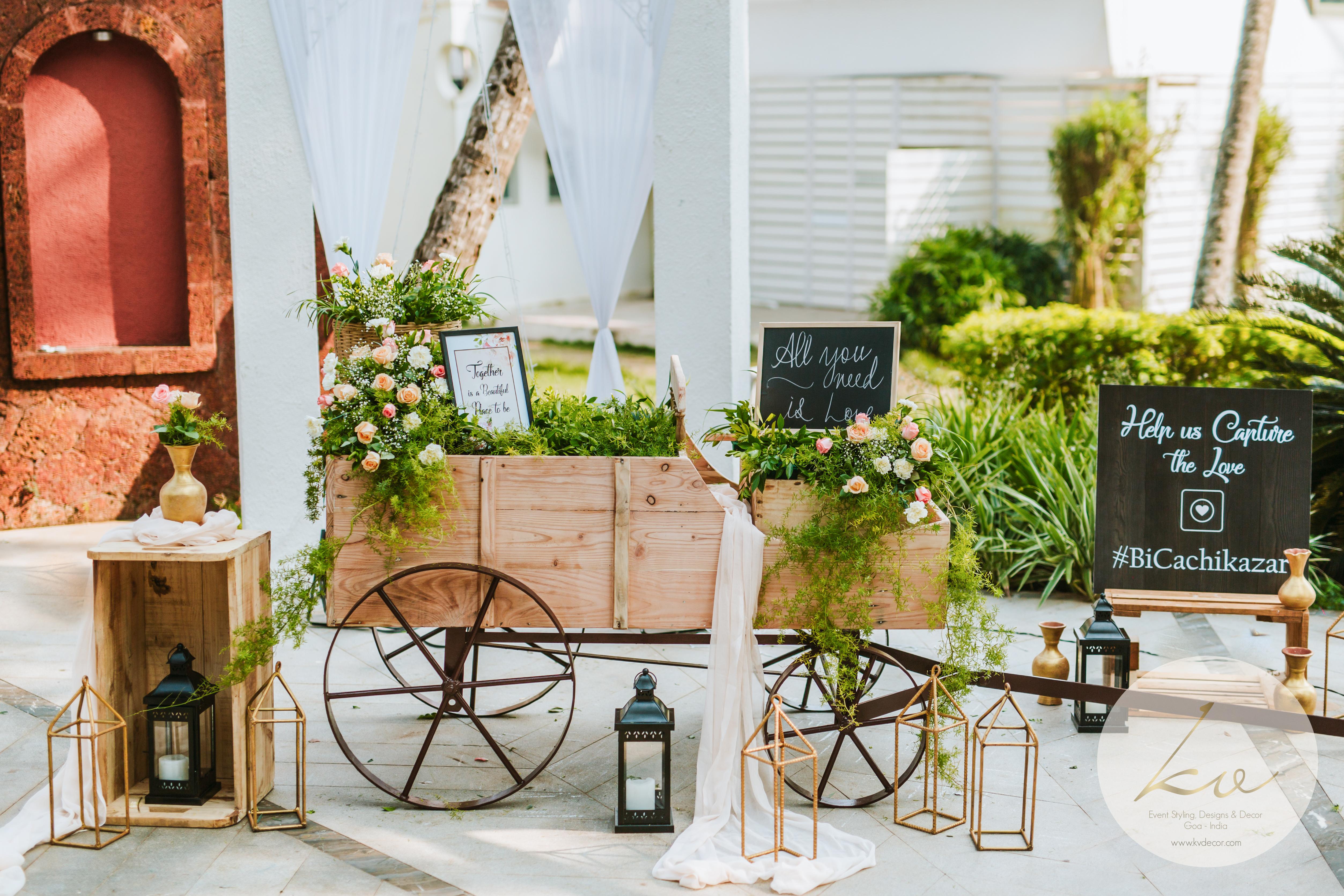 A wheelbarrow setup!