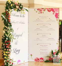 The Wedding Itinerary