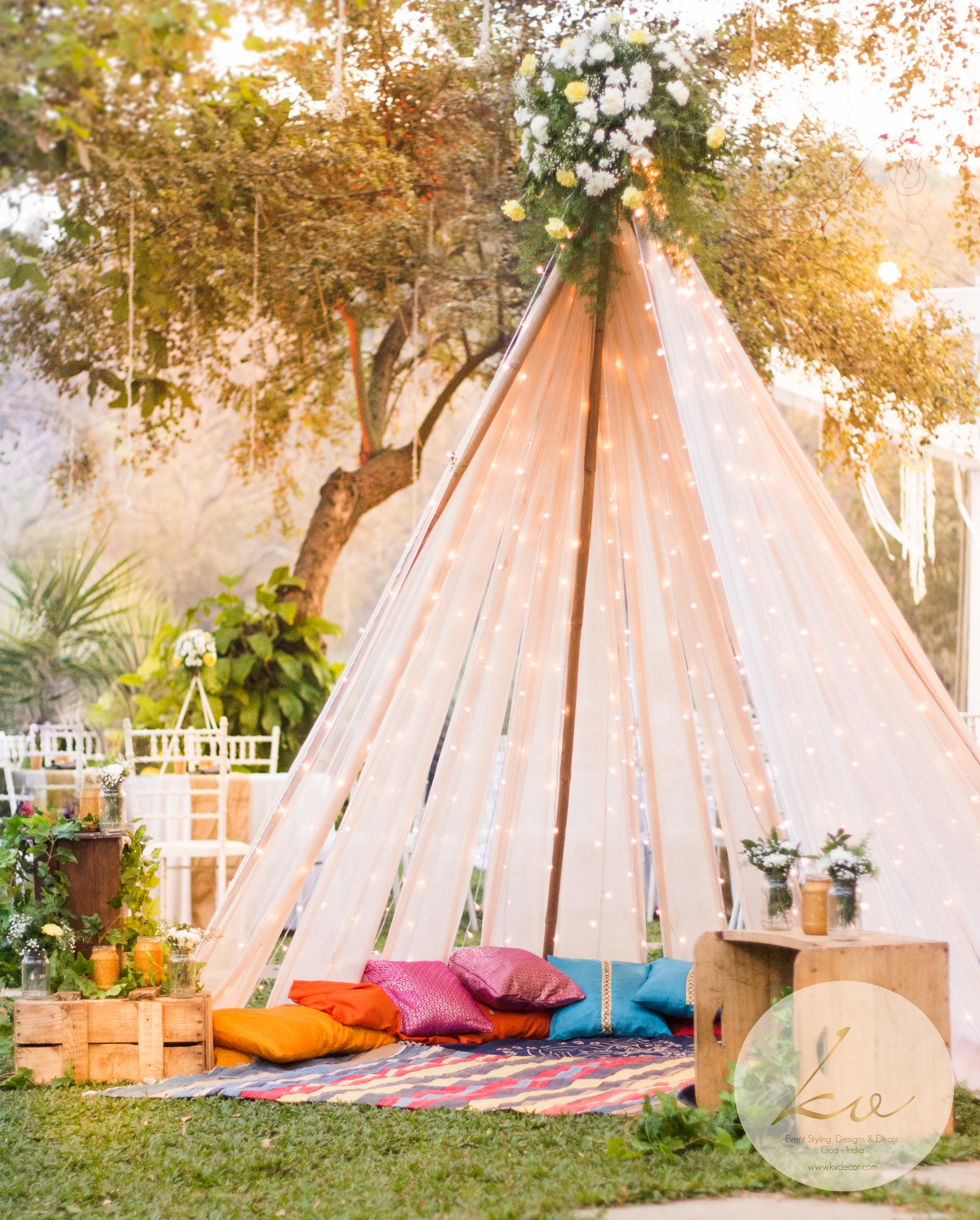 ... this boho inspired Tee Pee!