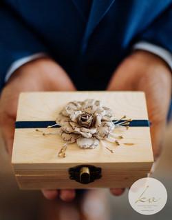 Handmade ring holder