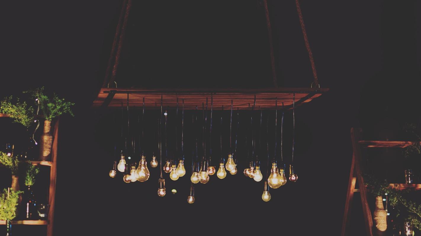 The warm kinda lights!