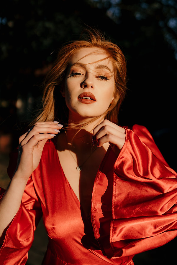 Sarah peddle, jessie snair photography, halifax novia scotia, halifax model, halifax photographer, haute features, feature site, calgary ablerta, red dress, red head model, pg
