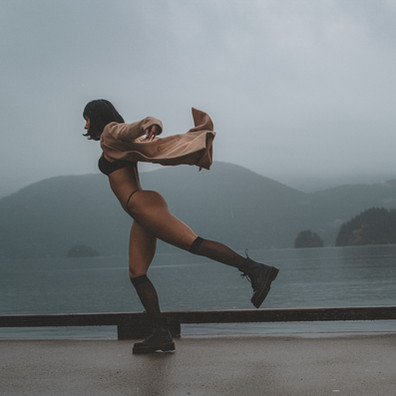 Take in time, taste the rain: Nikki Zecha is the Model of the month