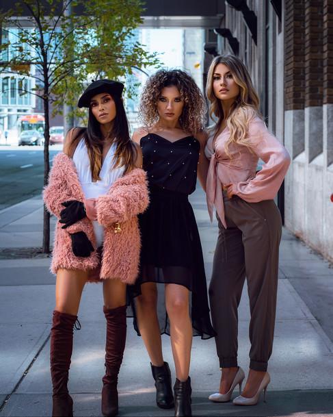 Cass, Alina, & Trisha x Rex Szeto