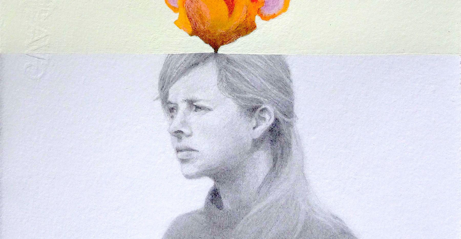 flor-lapiz-y-acrilico-sobre-papel-25x25c