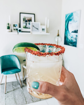 Hot Honey Margarita