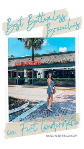 Best Bottomless Brunch Spots in Fort Lauderdale