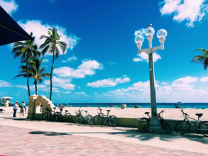 The Hollywood Beach Boardwalk