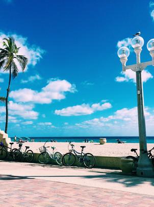 The Hollywood Beach Boardwalk