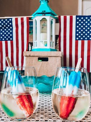 The Perfect Patriotic Cocktail