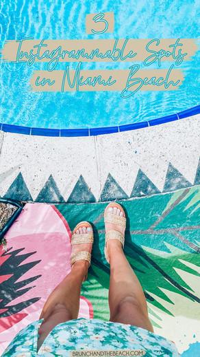 3 Instagrammable Spots in Miami Beach