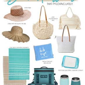 Beach Accessories I'm Loving Lately