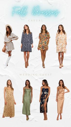 Fall Dresses I'm Loving