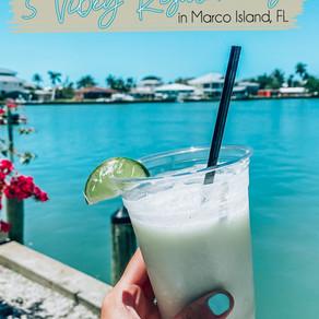 5 Vibey Restaurants in Marco Island, Florida