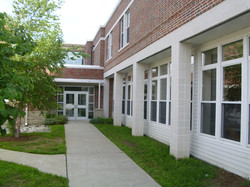 Outside View Cafeteria