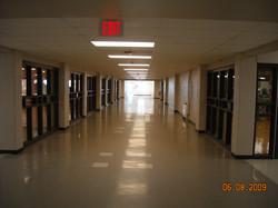 Cafeteria Corridor