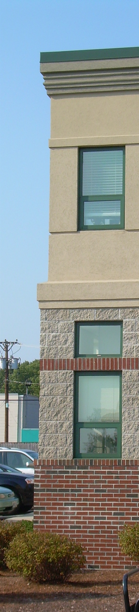 Brick Work on Building
