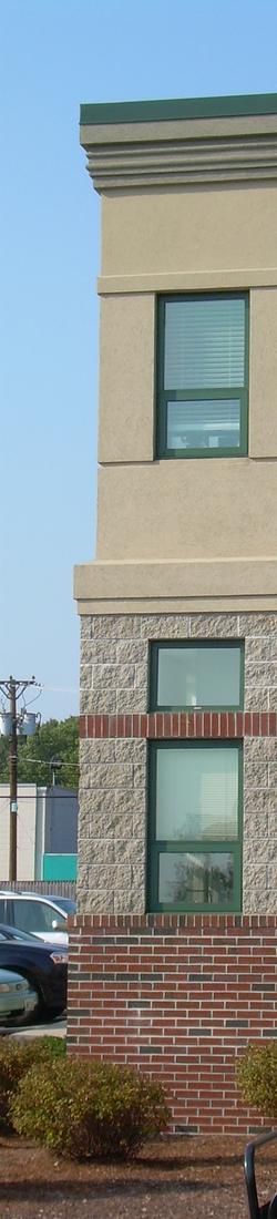 Brick Work on Building