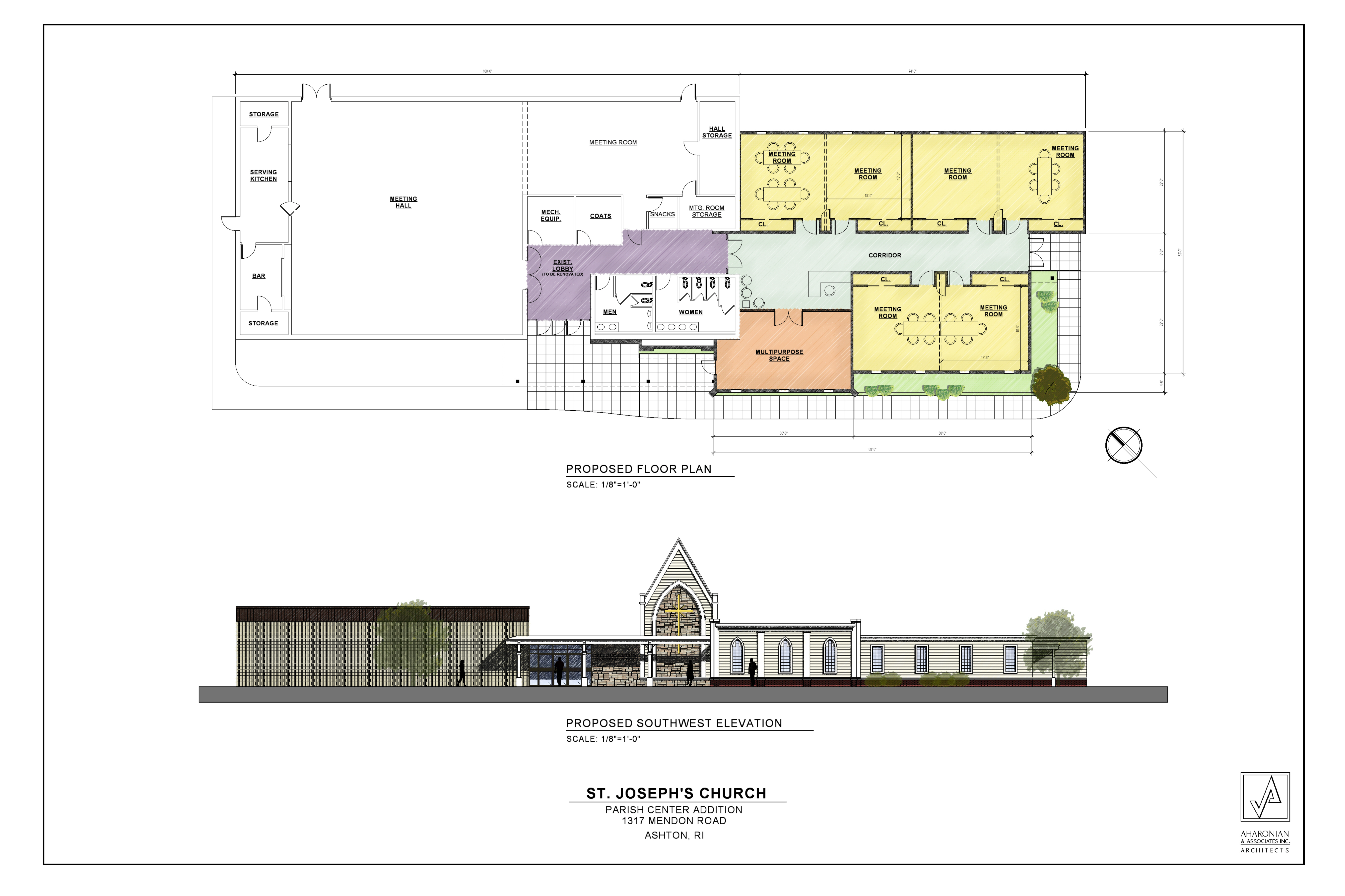 Proposed Renovations for Parish Hall