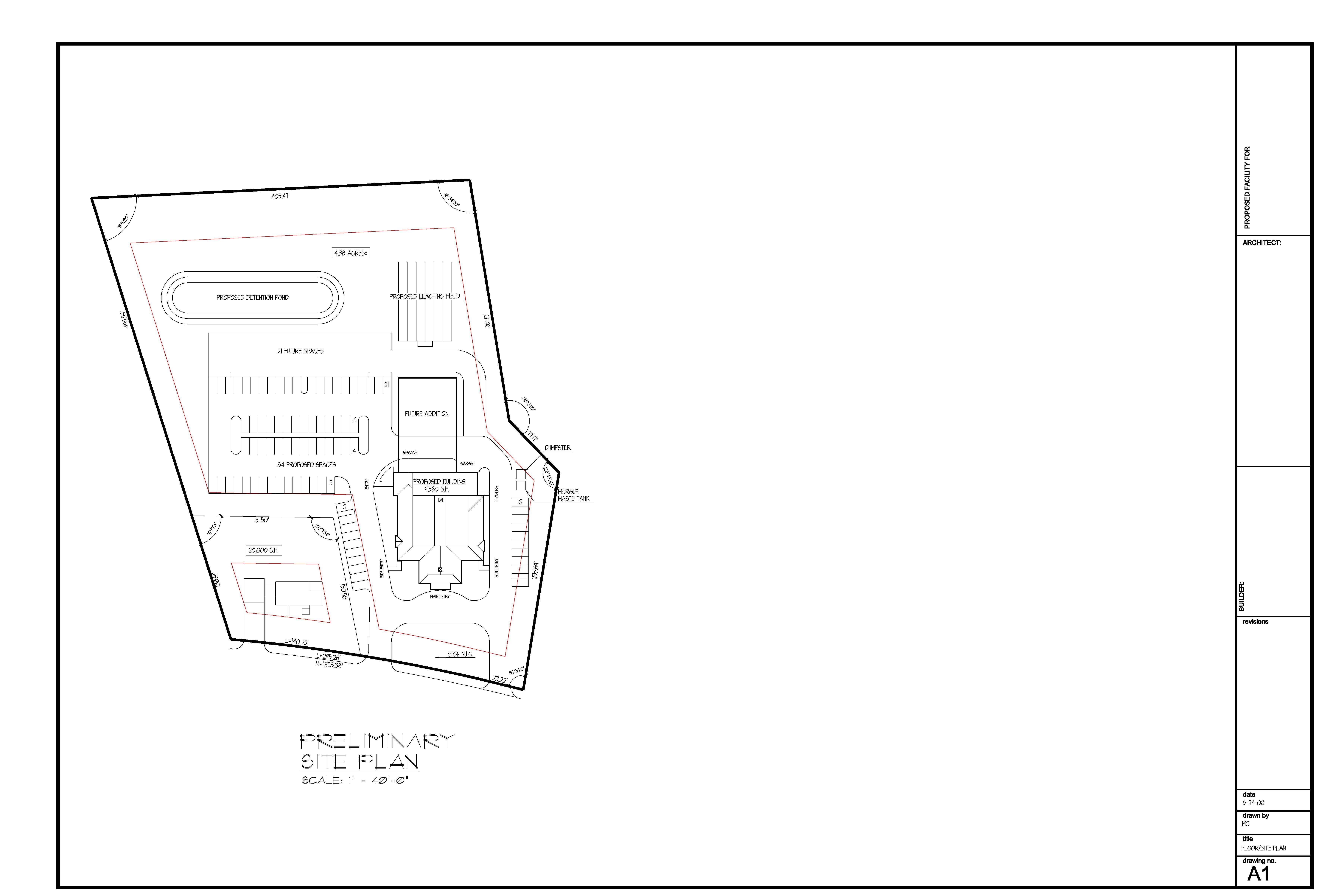 Schematic Site Layout