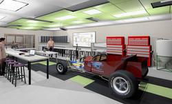 Energy Laboratory Rendering