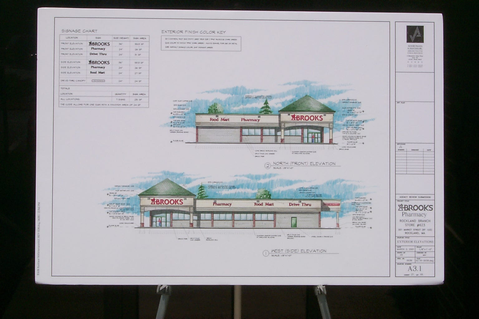 Elevations for Rockland, Maine